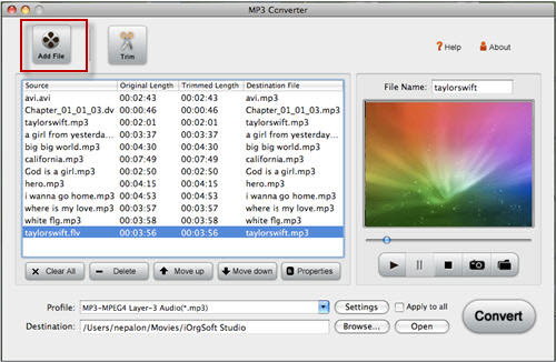 aiff to mp3 converter for mac free download