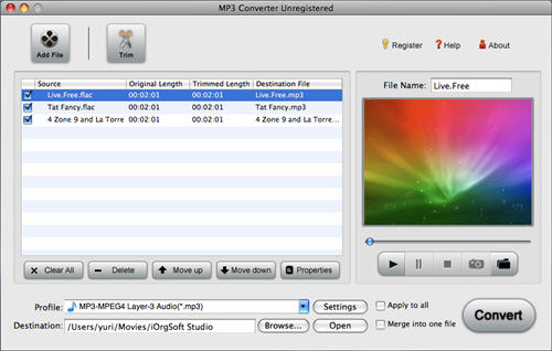 How to convert FLAC to MP3 on Mac without losing quality?